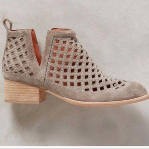 Jeffery Campbell Taggart suede booties 8.5
